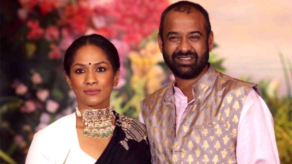 Masaba and her husband in real life