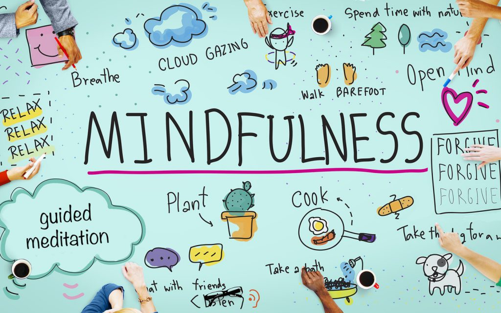 Practising mindfulness to avoid sleep deprivation