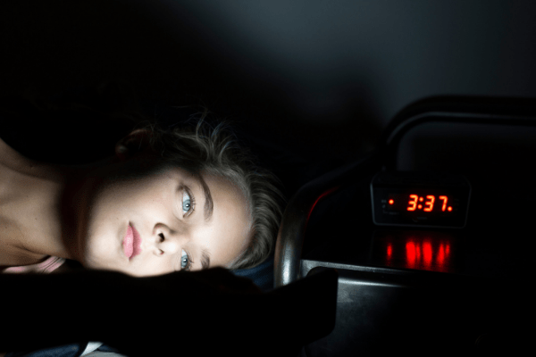 What happens when you are sleep deprived?