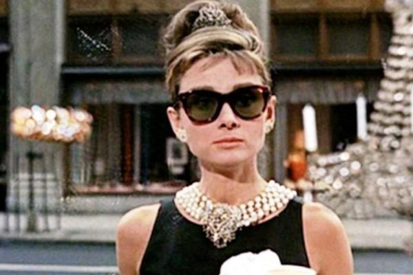 A still of Audrey Hepburn from Breakfast at Tiffany's