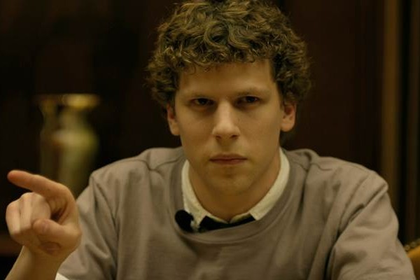 A still from The Social Network, a must watch show for an entrepreneur