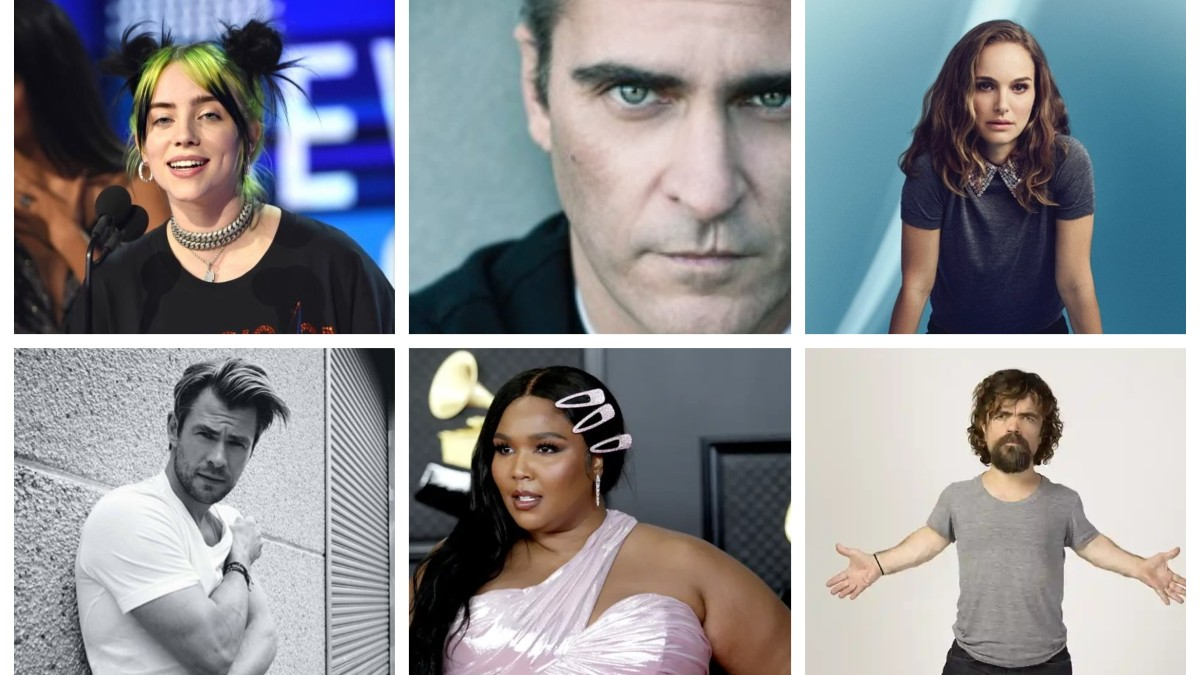 Celebrities who are Vegan in 2021