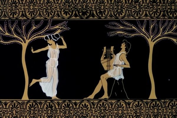 The story of Eurydice and Orpheus