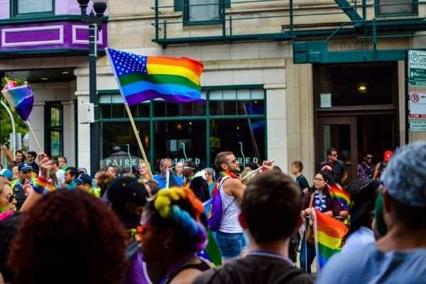 The history of pride movement.