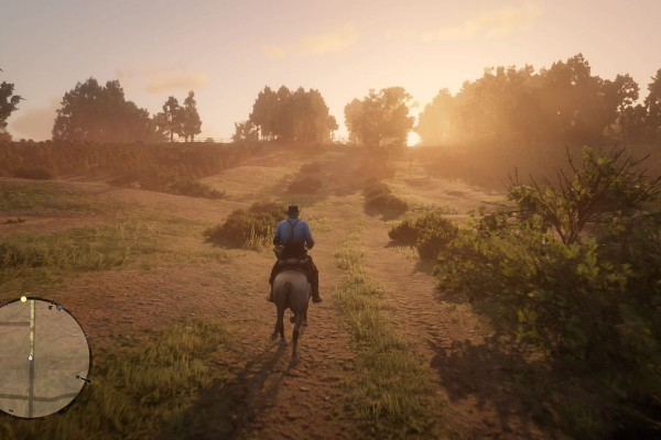 A still from Red Dead Redemption 2.