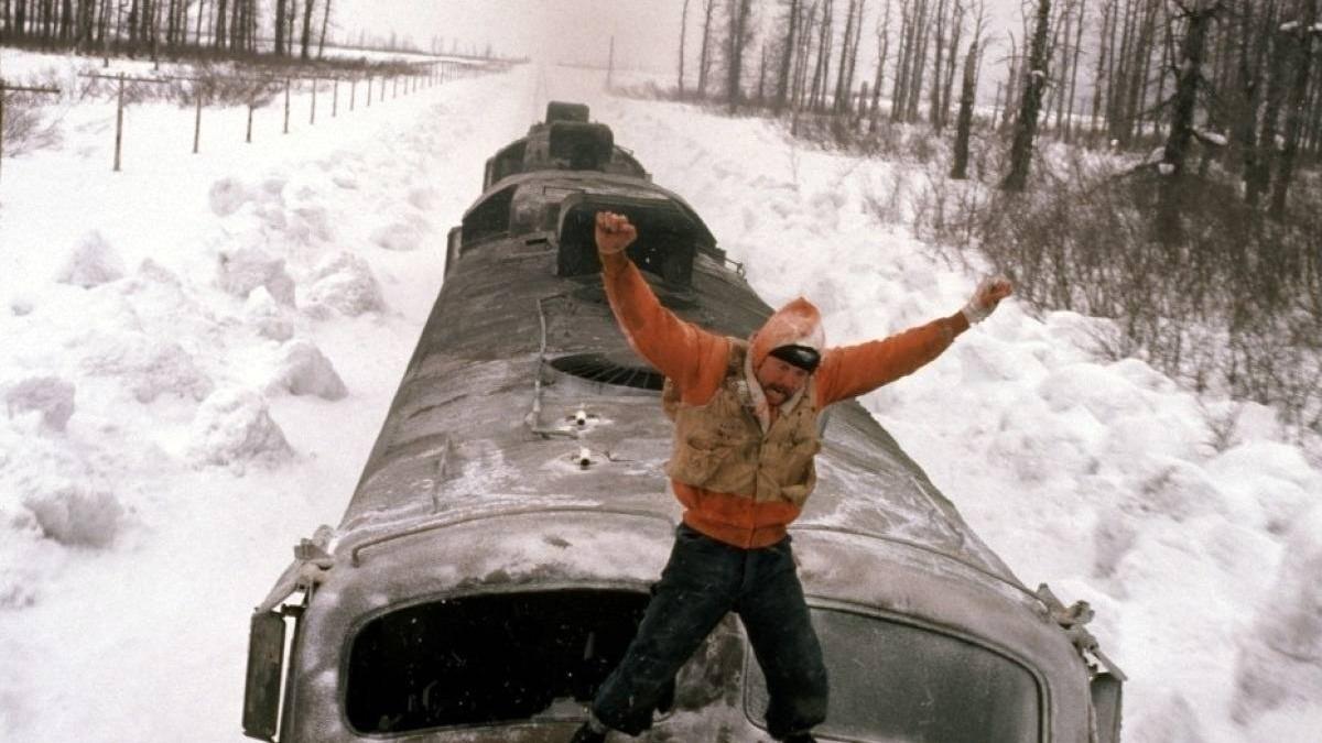 A Still from Runaway Train