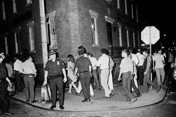 The Stonewall riot history.