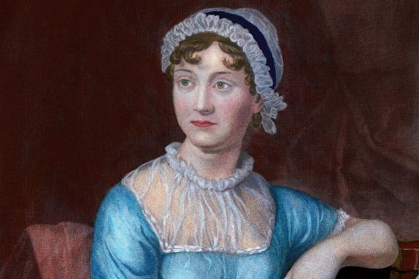 A portrait of Jane Austen