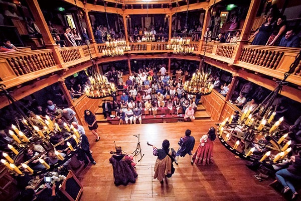 Performing Shakespeare on stage