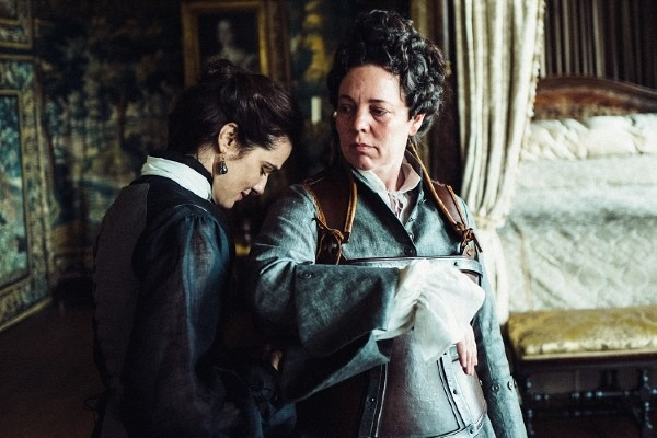 A still from Yorgos Lanthimos's The Favourite (2018)