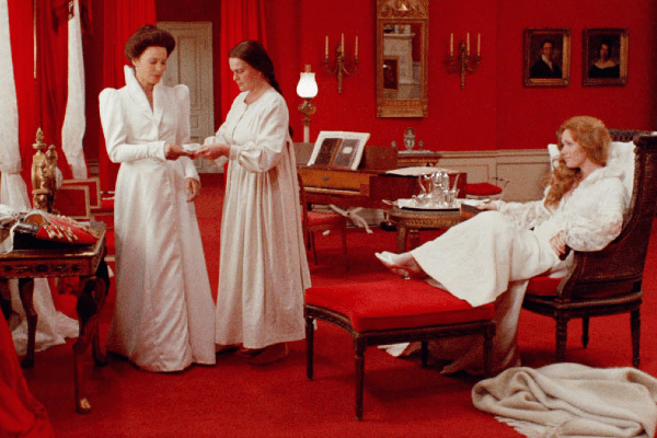 A still from Bergman's Cries and Whispers