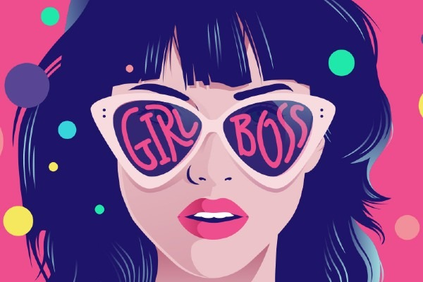 The concept of 'girl boss.'