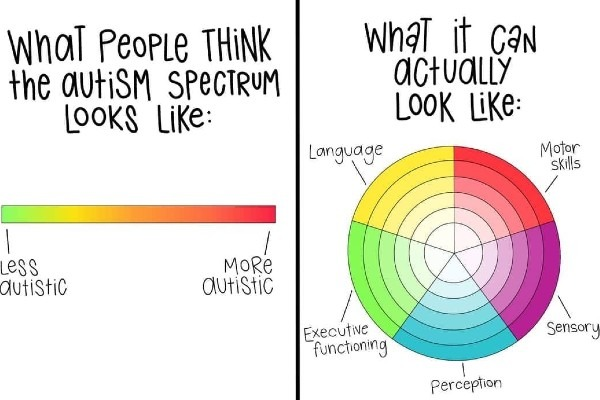 How the autistic specturm is